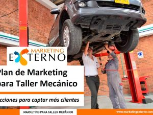 Plan de Marketing para Taller Mecanico Mkx